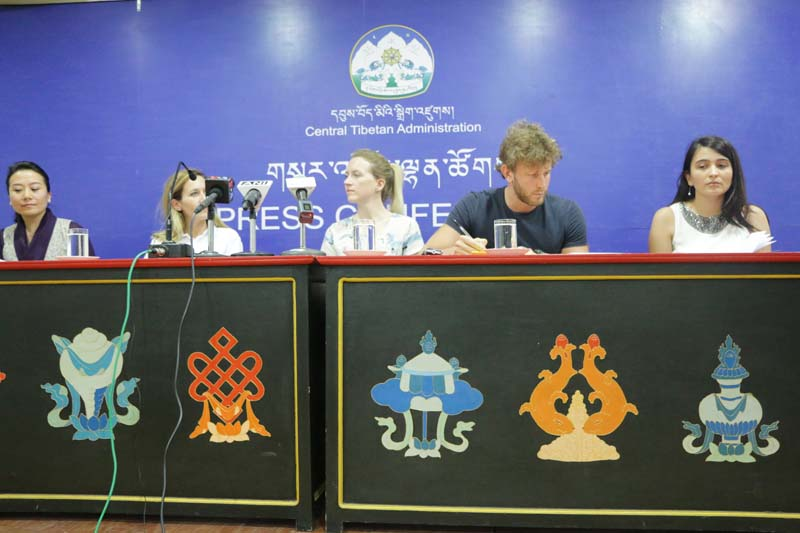 European parliament delegation visit to Dharamsala