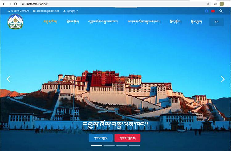website for election