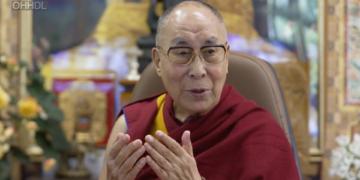 H.H The 14th Dalai lama