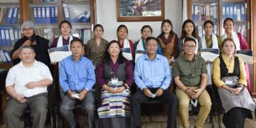 Tibetan Volunteers during Covid-19 pandemic.(Image:Tibet.net)