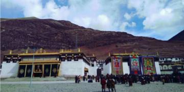 Dza Wonbo Monastery. Image:Tibet Times's Source(Tibet)