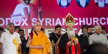 HH the Dalai Lama visit to Kochi, Kerala on November 25, 2012, Photo: Tenzin Choejor/OHHDL