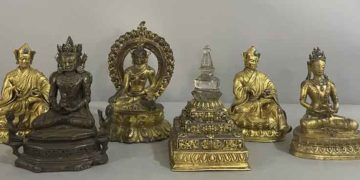 The relics retrieved from the US  Photo: Courtesy of China's National Cultural Heritage Administration
