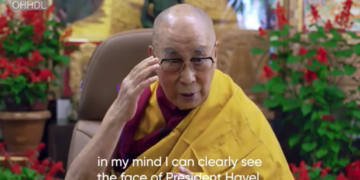 HH Dalai Lama gave video message on the occasion of 25th Forum 2000 conference held between October 10-12, 2021